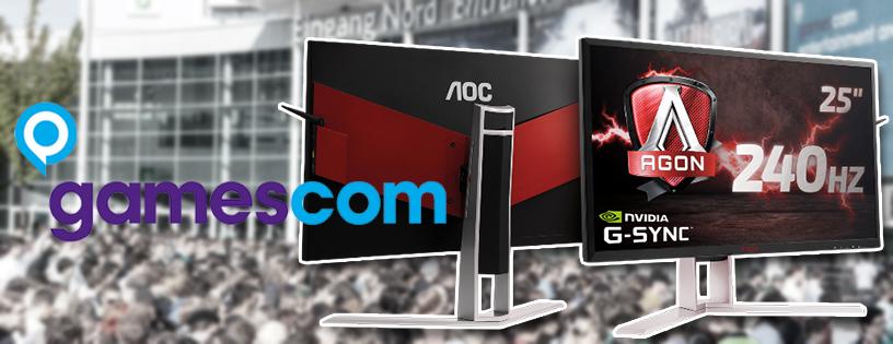 AOC dezvaluie un monitor super rapid de 240Hz cu G-Sync