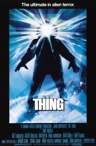 poster film the thing creatura
