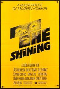 poster film the shining stralucirea